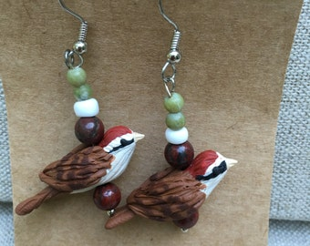 Church Hill Sparrow Earrings