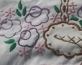 Sew Pretty Pillowcases - Basket of Purple Posies - Set of 2