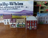 Vintage Wade on Whimsey Bally Whim Village - 8 Piece - Ireland Porcelain