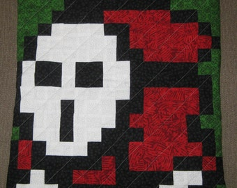 Shy Guy Quilted Pillow Cover - Free USA Shipping