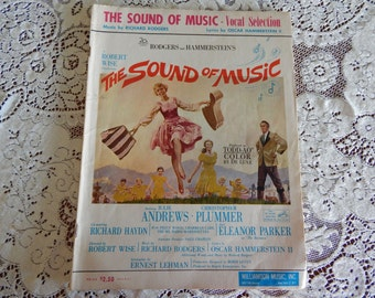 1959 Rogers and Hammerstein's Sound of Music Vocal Selection Book