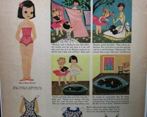 """Toys ... 125  """"Betsy McCall Paper-Doll Cut-Out ...""""  Magazine Ad - April 1956"""
