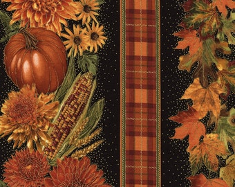 Harvest Stripe fabric | Fall Fabric | Timeless Treasures Quilting cotton