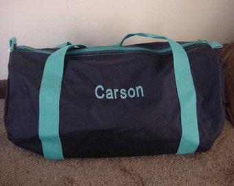 Personalized Boys Sports Gym Overnight Duffle bag