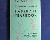 1956 Baseball Yearbook by Roger Kahn and Harry Wismer Illustrated