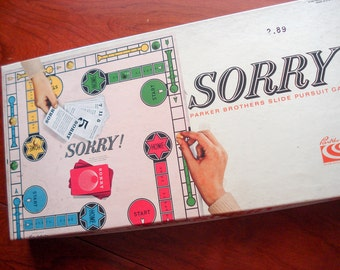 Sorry! - Vintage board game - 1964 - complete - very good condition