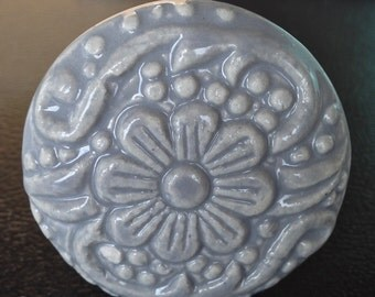 New Gray Ceramic Knob Art Crafts Destash