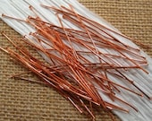 "2"" Antique Copper Head Pins - 50ct"