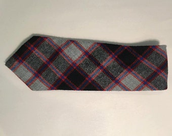 Sale - Vintage Wool Tweed Men's Tie