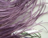 VOGUE OSTRICH  Fringe /  English Lavender Purple   /  354