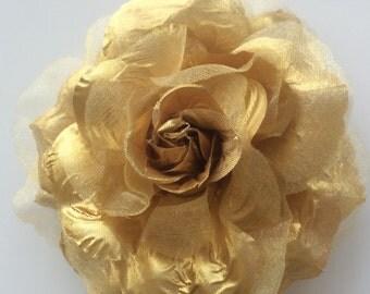 SHEER ROSE , Rose Flower, Gold /  TG - 17