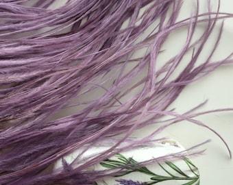 VOGUE OSTRICH  Fringe /  English Lavender Purple   /  354