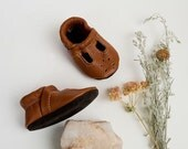Sienna  T-STRAPS  Soft Soled Leather Shoes Baby and Toddler Free Shipping in US
