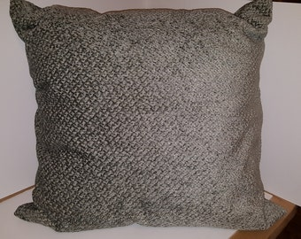 Blue/Grey Tapestry Pillow