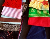 SAMPLE SALE Corset Waist Cincher Belts Red Gray Blue Striped Polka Dot Corduroy Polka Dot Satin Jungle Hawaiian