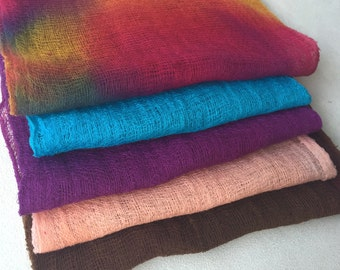 Hand Dyed Cheesecloth Sampler Pack 116