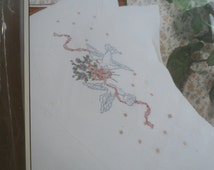 Cross Stitch Pillow Cases Stitchery Bucilla Embroidery Doves Kit New