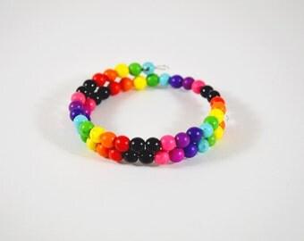 Rainbow Gemstone Bracelet // READY TO SHIP