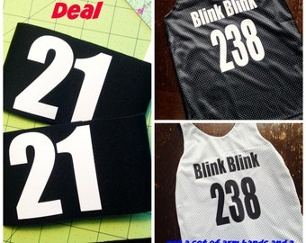 Reversible Jersey (Women's and Men's)  and armband Set