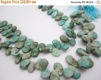 SALE Turquoise Beads, Turquoise Briolettes, Blue turquoise Beads, Turquoise, SKU 4440A
