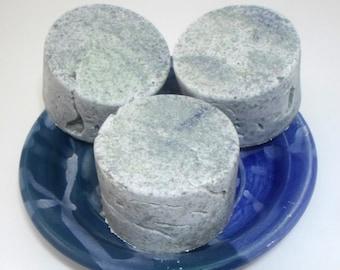 Sea Salt Soap - Unscented Vegan Salt Soap - Teen age skin - difficult skin types