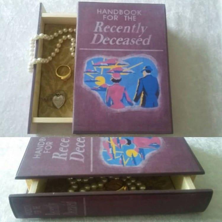 handbook for the recently deceased book