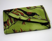Compact Wallet with coin purse - Tieke / Saddleback