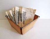 Vintage Muslin Mail Sacks Chicago Illinois First Class and Air Mail Free Shipping