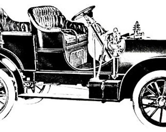 Vintage car clipart | Etsy