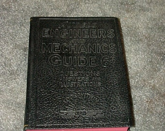 1940--AUDELS--Engineers & Mechanics GUIDE--Book 6--Firing--Oil Burners--Stokers--Repairs