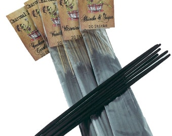 Vanilla Vamp Charcoal Incense 20 Sticks