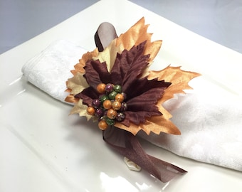 Napkin Rings - Fall