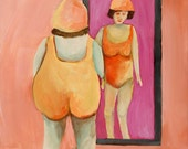 Small Matted Print, Mirror Mirror SALE!