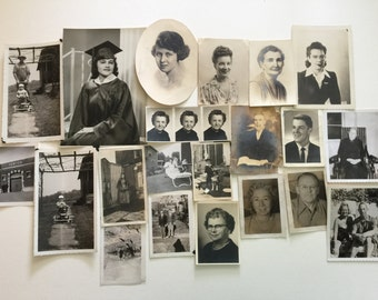 Huge Lot 100 vintage Photos Mixed Subject Destash Snapshots