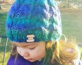Knit cable beanie. Cable hat. Knit hat. Children hat. Baby hat. Adult hat.