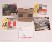 RESERVED FOR KEN - View-Master 3D Viewfinder Reels - Chile Rio De Janeiro Brazil South America