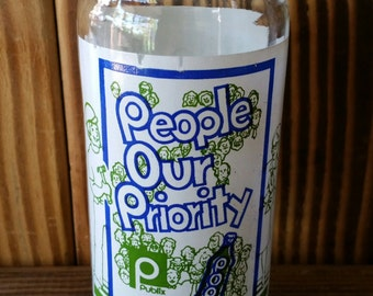YAVA Glass - Upcycled People Our Priority Bottle Glass
