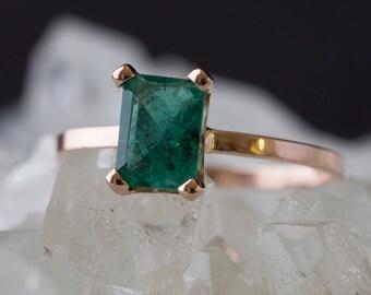 Custom Natural Gemstone Ring