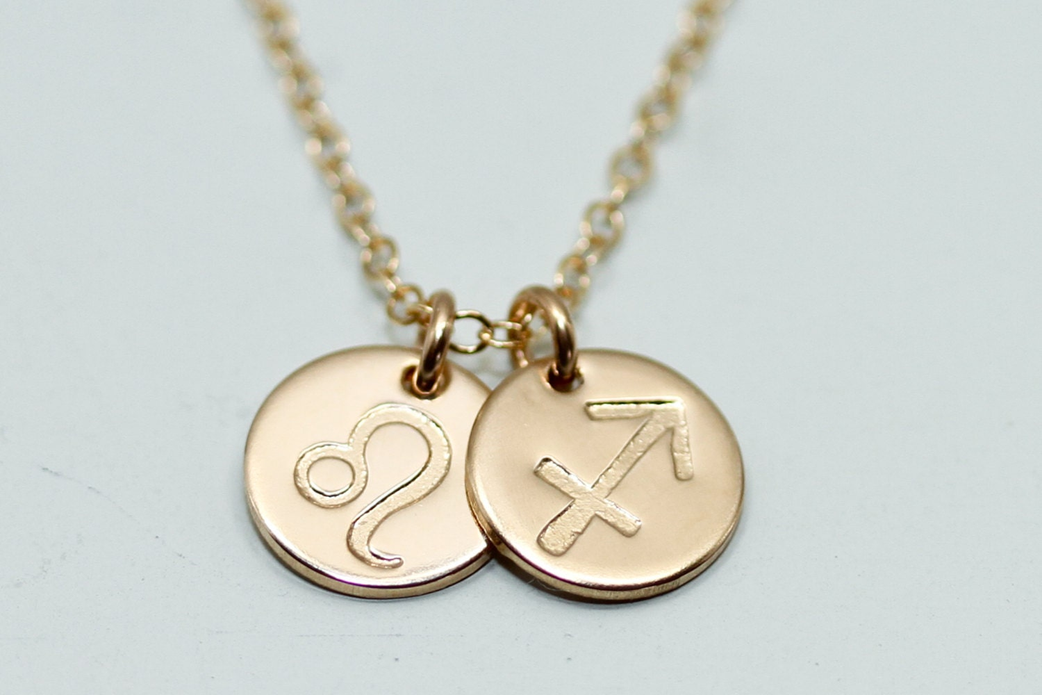 zodiac necklace zodiac jewelry dainty gold by seaandcake