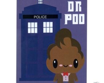 Dr. Poo Stinky Poo parody magnet
