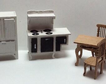 Quarter Inch Scale Victorian Style Kitchen Furniture Kit