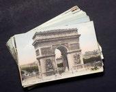 30 Paris, France Antique Postcards Lot - Carte Postale, Color, Travel Themed, Wedding Registry (Unused)