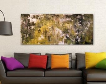 abstract painting art housewares original painting wall art wall decor home decor wall hanging gift 72 x 31 - Mattsart