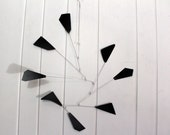 Mobile Mid Century Modern Wing Style - SHIPPING INCLUDED Kinetic Mobile Calder Inspired For Your Modern Home or Office - 24w x 31t - P135