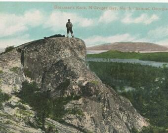Vintage Postcard - Georgian Bay - Dreamer's Rock - McGregor Bay - North Channel - Memorabilia