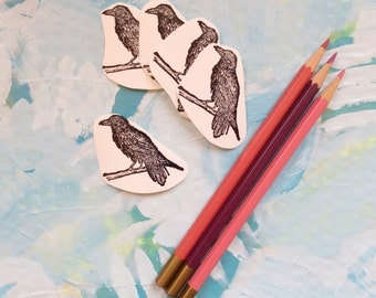 raven sticker set