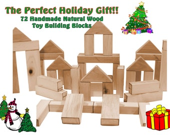 72 Piece Set - Eco-Friendly - All Natural - Handmade in the USA - LOWEST PRICE