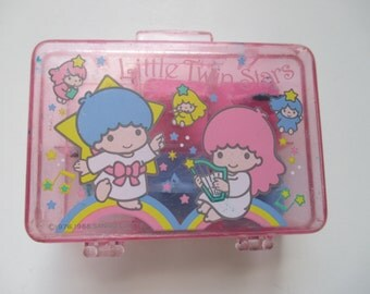 Sanrio Little Twin Stars Mini Small Stamp Set Vintage 1988 80s
