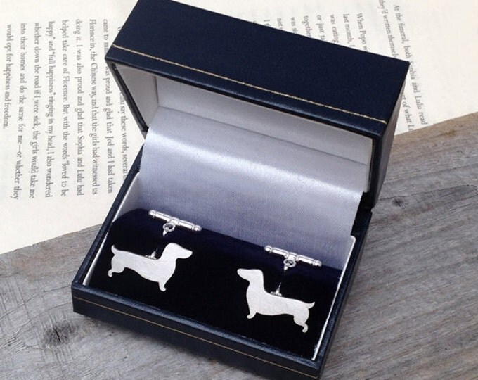 Cufflink Box In Midnight Blue, Presenting Your Gift, Gift Box Made In England