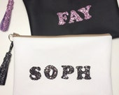 Personalised Glitter Bag
